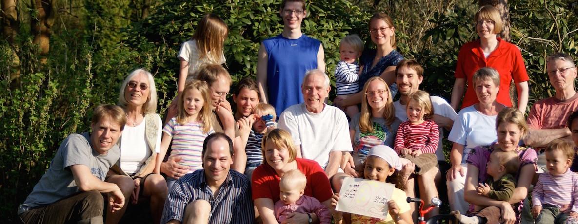 Familienfoto 2009