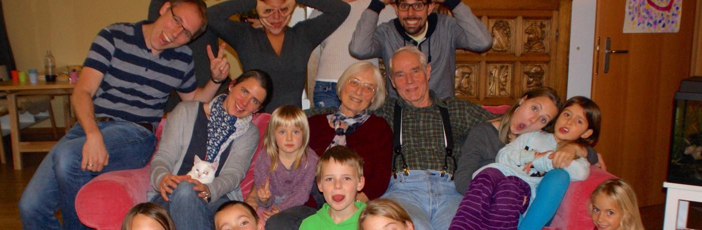 Familienfoto 2014